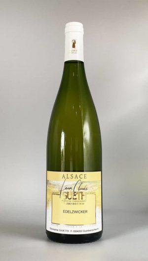 bouteille edelzwicker vin alsace domaine gueth gueberschwihr