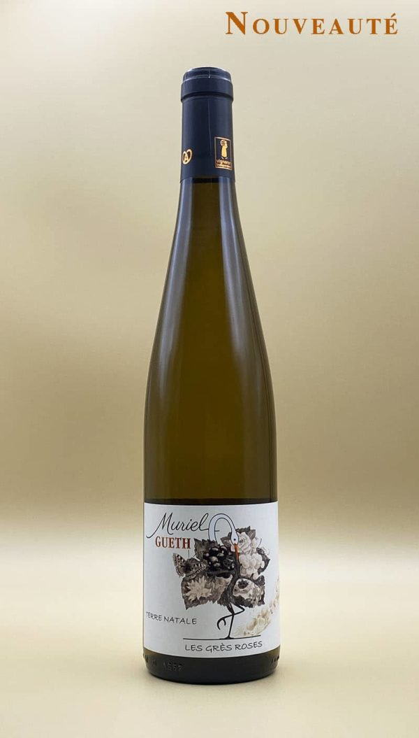 bottle les gres roses 2018 wine alsace domaine gueth gueberschwihr