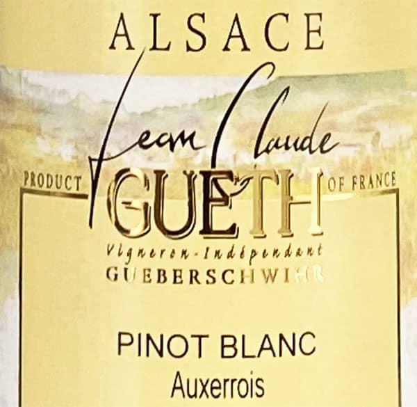 pinot blanc auxerrois 2015 etiquette signature gueth web