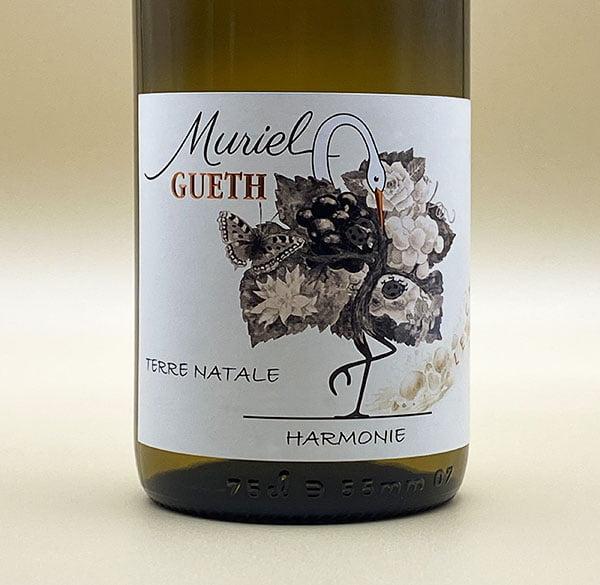 etiquette harmony 2017 alsace wine domaine gueth gueberschwihr