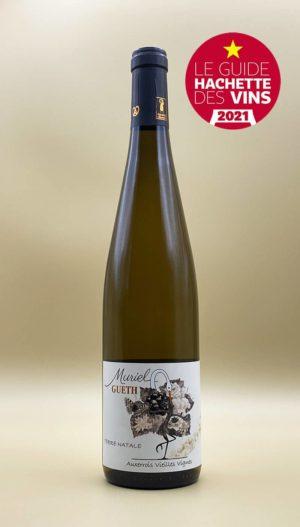bouteille pinot blanc auxerrois vieilles vignes 2018 vin alsace domaine gueth gueberschwihr guide hachette