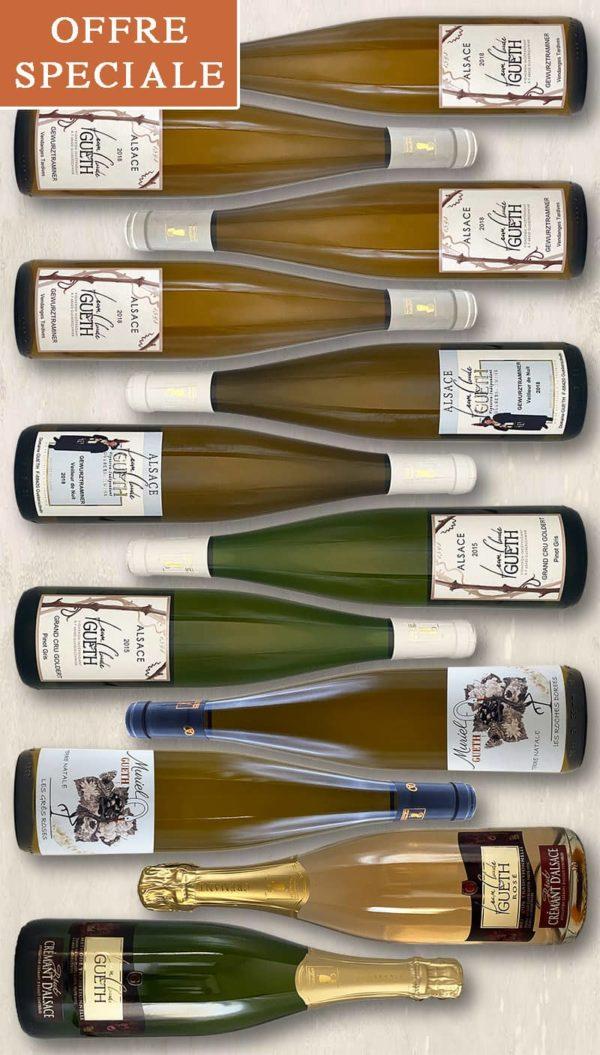colis2021 12 bouteilles aperitif confine vin alsace domaine gueth gueberschwihr