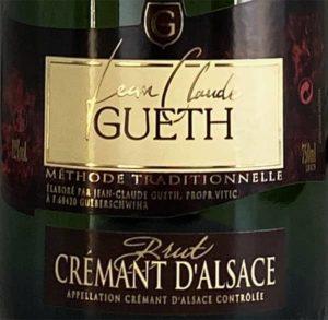 cremant blanc brut etiquette signature gueth web