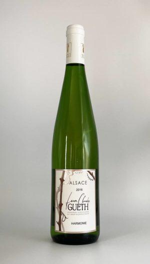 bouteille assemblage harmonie 2016 vin alsace domaine gueth gueberschwihr