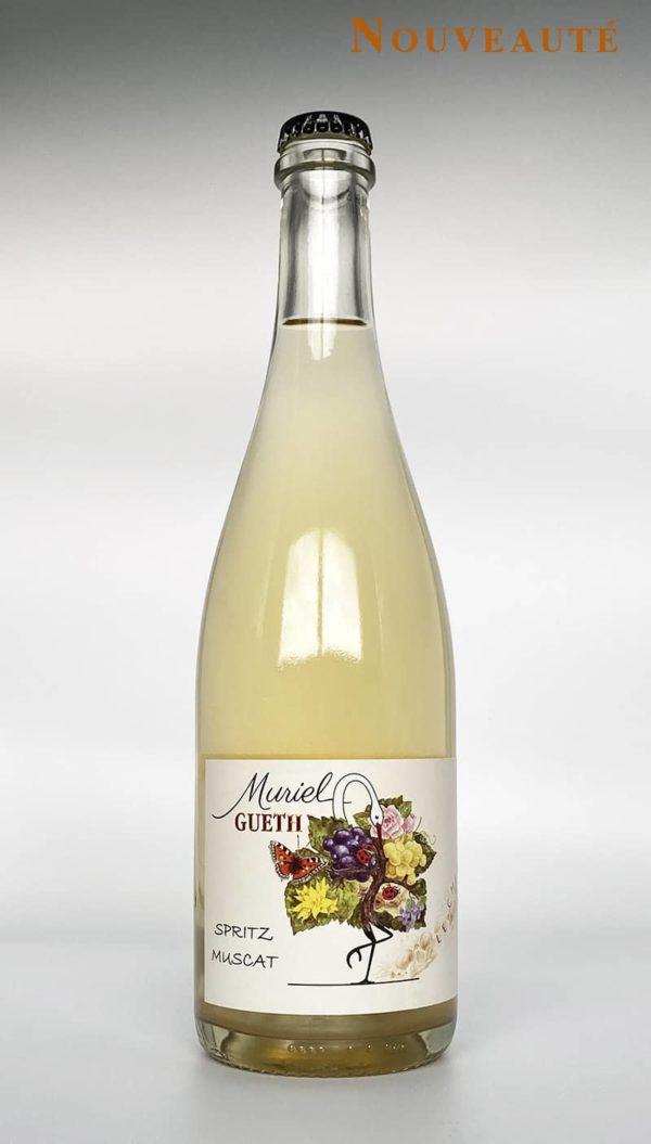 2019 muscat spritz bottle domaine gueth gueberschwihr