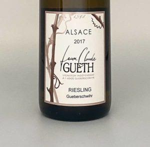 riesling village 2017 etiquette vin alsace domaine gueth gueberschwihr
