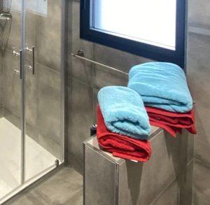 serviettes salle eau domaine gueth