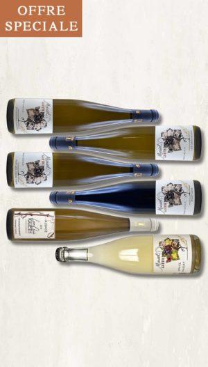 colis 6 bouteilles nouveautes 2020 vin alsace domaine gueth gueberschwihr