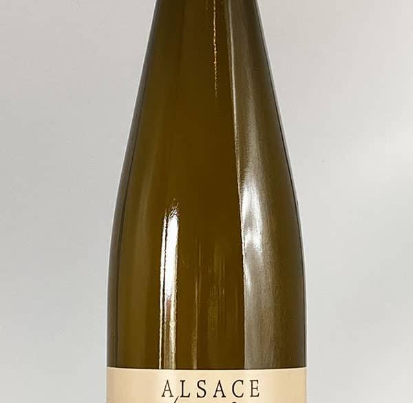 Körper Flasche Gewurztraminer Reserve 2018 Wein Elsass Domaine Gueth Gueberschwihr