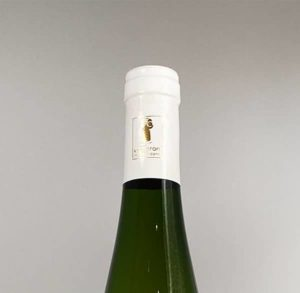 goulot bouteille pinot blanc auxerrois 2015 vin alsace domaine gueth gueberschwihr