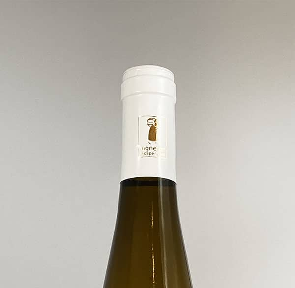 bottle neck riesling reserve 2018 alsace wine domaine gueth gueberschwihr