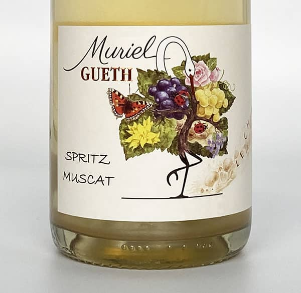 2019 muscat spritz label domaine gueth gueberschwihr